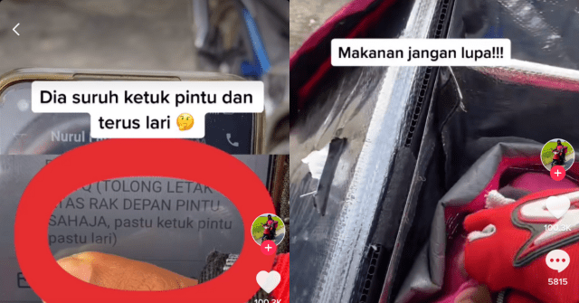 Gelagat rider cuit hati netizen