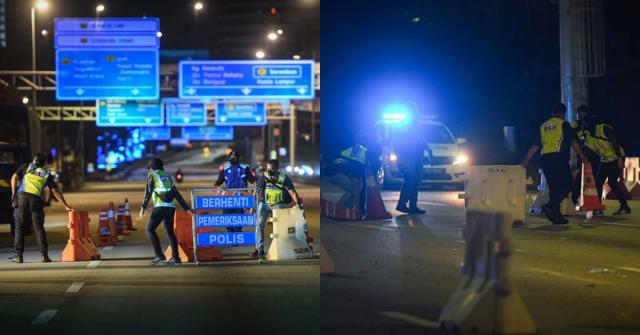 Sekatan jalan raya di Putrajaya ditamatkan