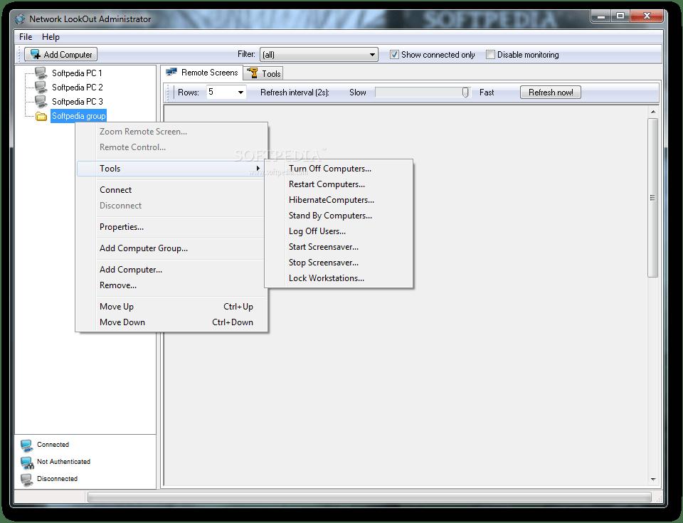 تحميل برنامج للتحكم في الاجهزة على الشبكة المحلية عن بعد