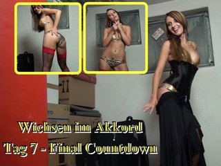DirtyAnja - Wichsen im Akkord Tag 7 - Final Countdown