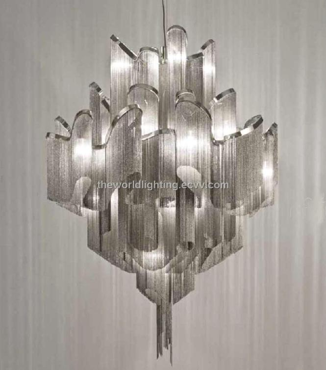 Aluminum Modern Chandelier China Td 120519