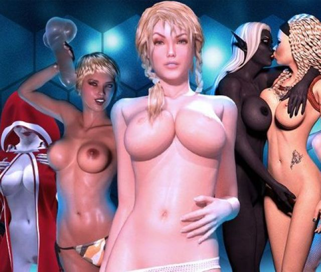 D Nude Girls In Virtual D Girlz Games With Anime Porn