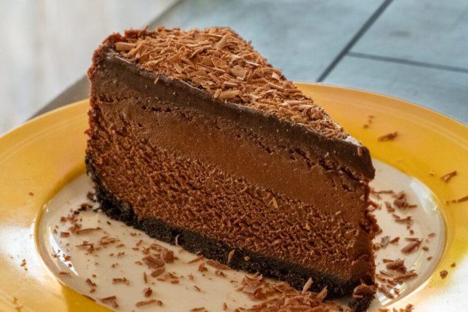 Chocolate cheesecake at Beloved Cheesecakes.
