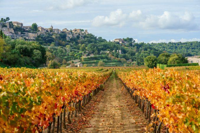 Menerbes, Provence, France