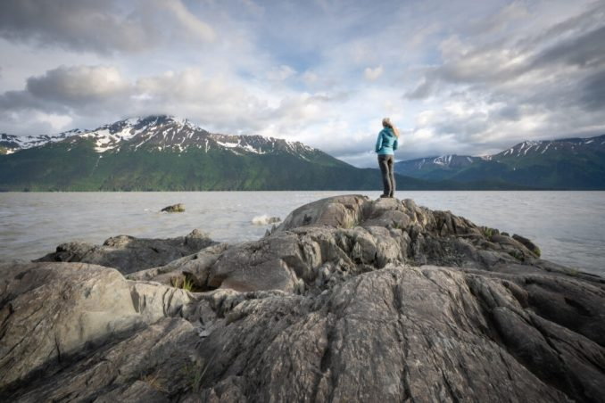 Turnagain Rocks in Alaska