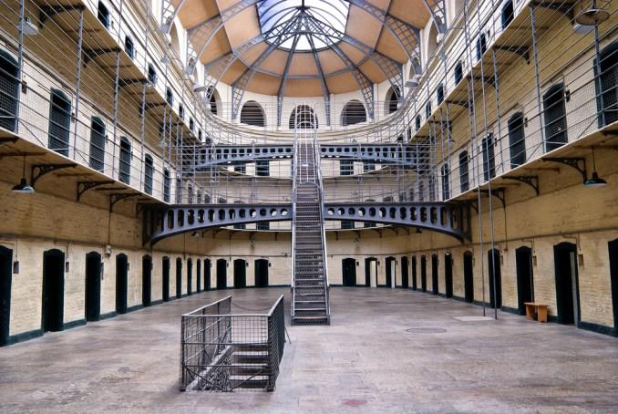 Kilmainham Gaol, prison in Dublin, Ireland.