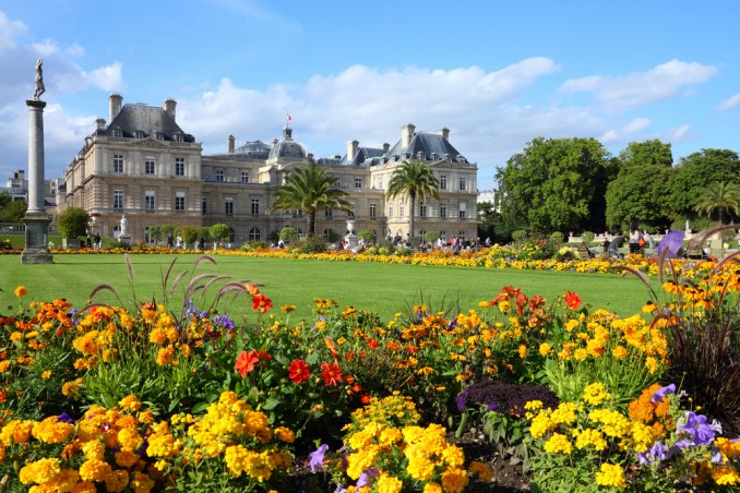 Luxembourg Palace and park