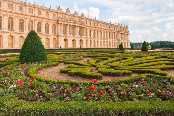 Palace of Versailles garden