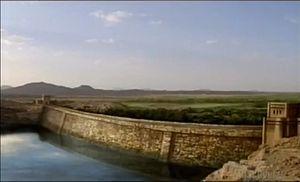 Ilustrasi : Bendungan Saba [Wiki]
