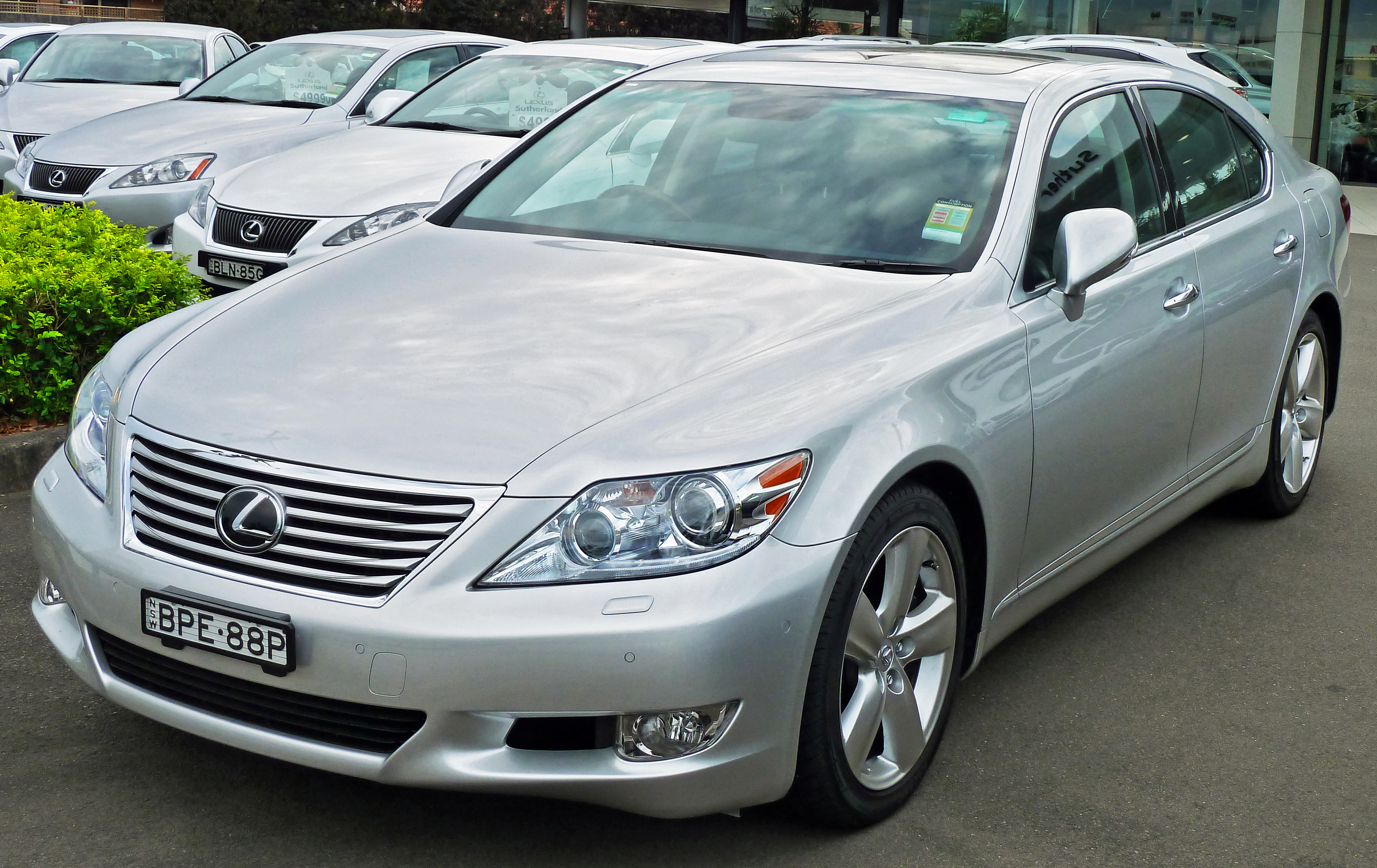 Need information regarding this OEM wheels for the Lexus LS XF40