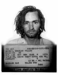 Charels Manson Mugshot