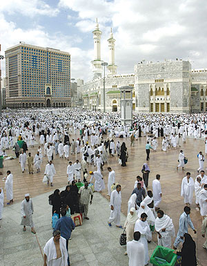 Photograph of Mecca, KSA.