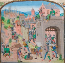 The men of Ghent capture and pillage Grammont (1380)