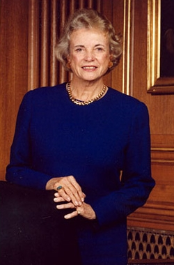 English: Sandra Day O'Connor, 1st Female Assoc...