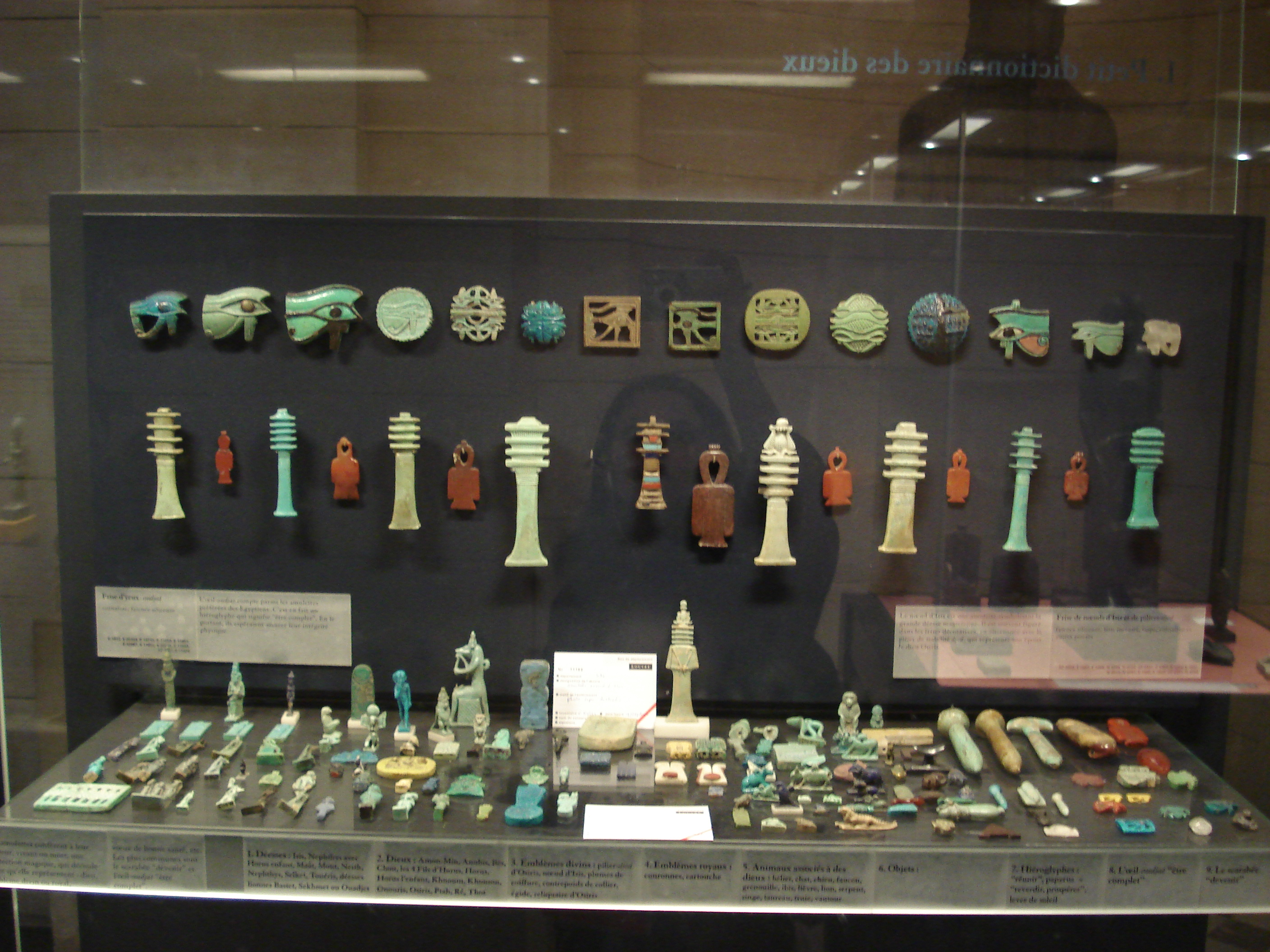 File Amulets Of Ancient Egypt In The Louvre