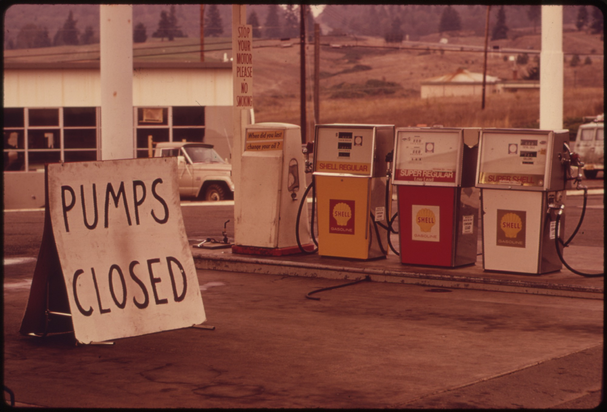 File Gasoline Shortage Hit The State Of Oregon In The Fall