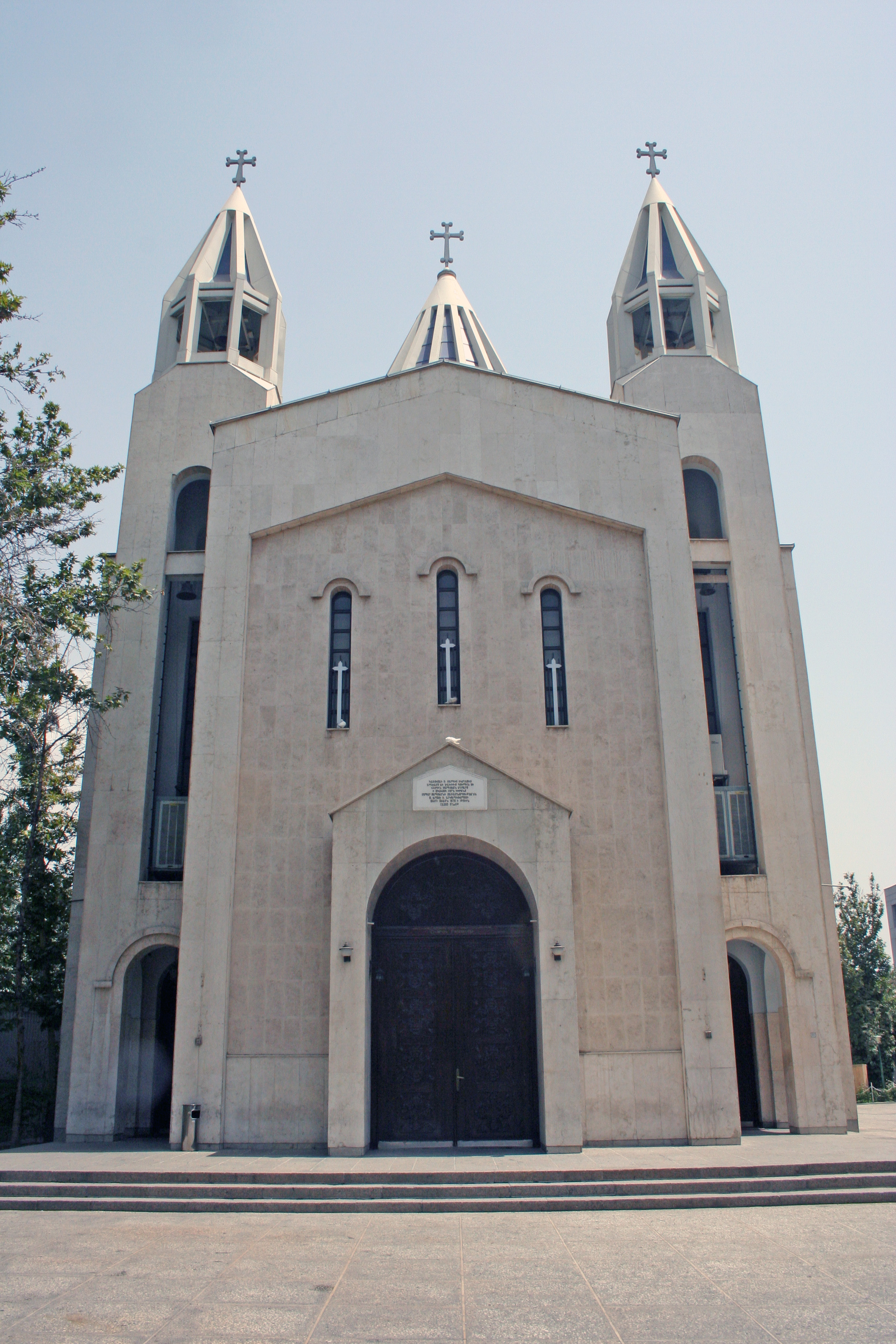 St. Sarkis Cathedral in Tehran.