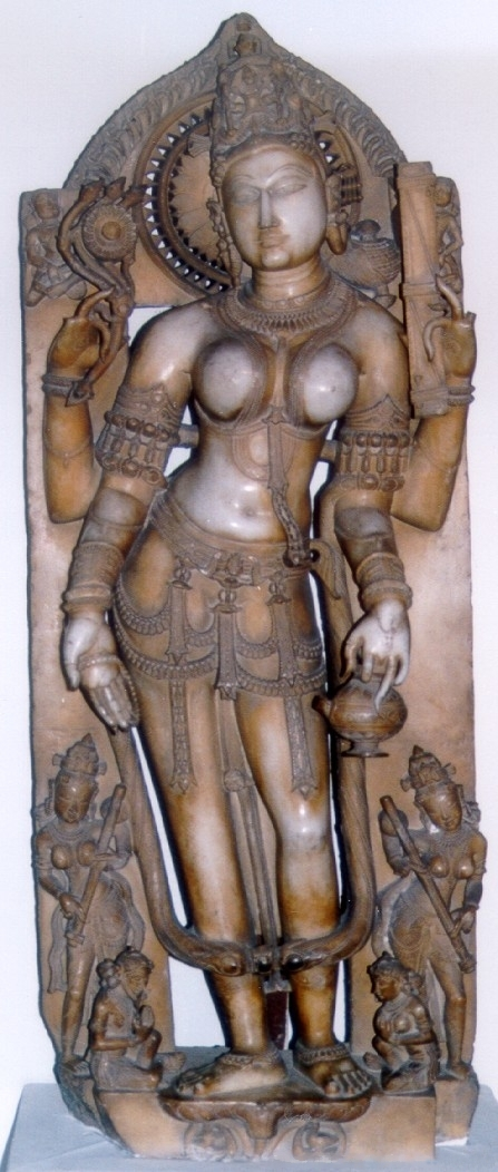 English: Sarasvati, Rajasthan, Indian National...