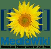 MediaWiki logo.