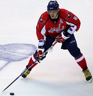 English: Alex Ovechkin, 2009