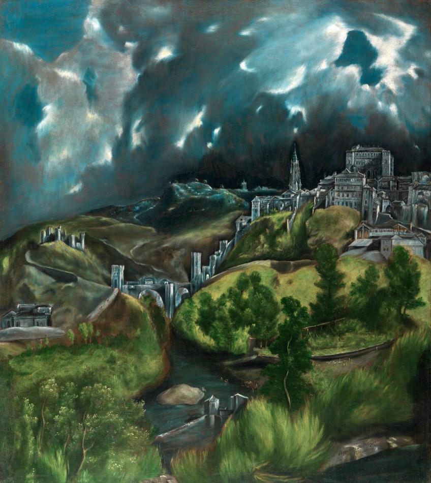 Paisaje de Toledo. El Greco