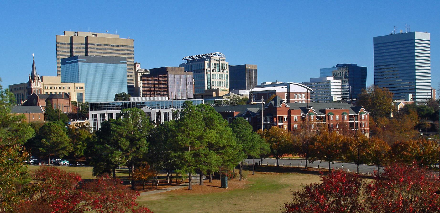Downtown Lexington South Carolina