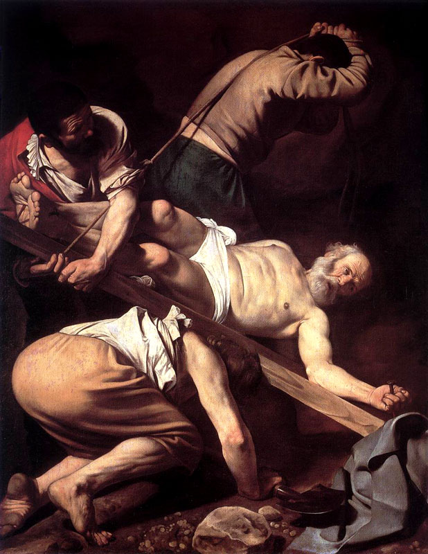 Caravaggio - The Crucifixion of St. Peter