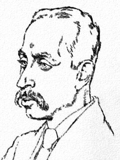 Rainer Maria Rilke, nach einer Zeichnung von E...