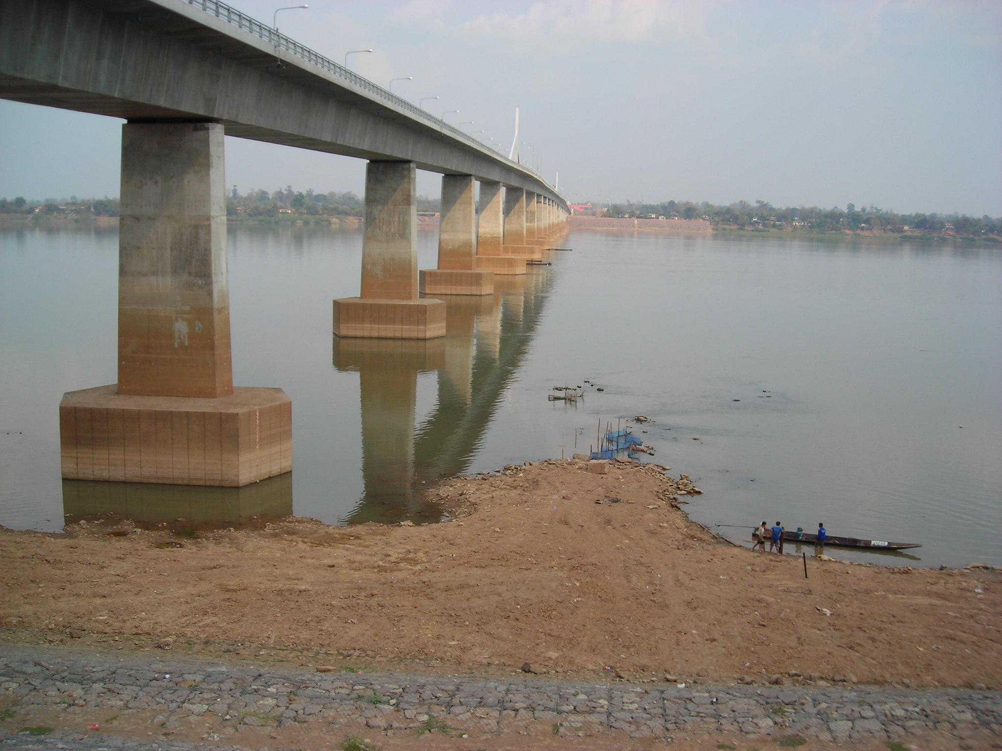 Second Thai–Lao Friendship Bridge, seen from M...