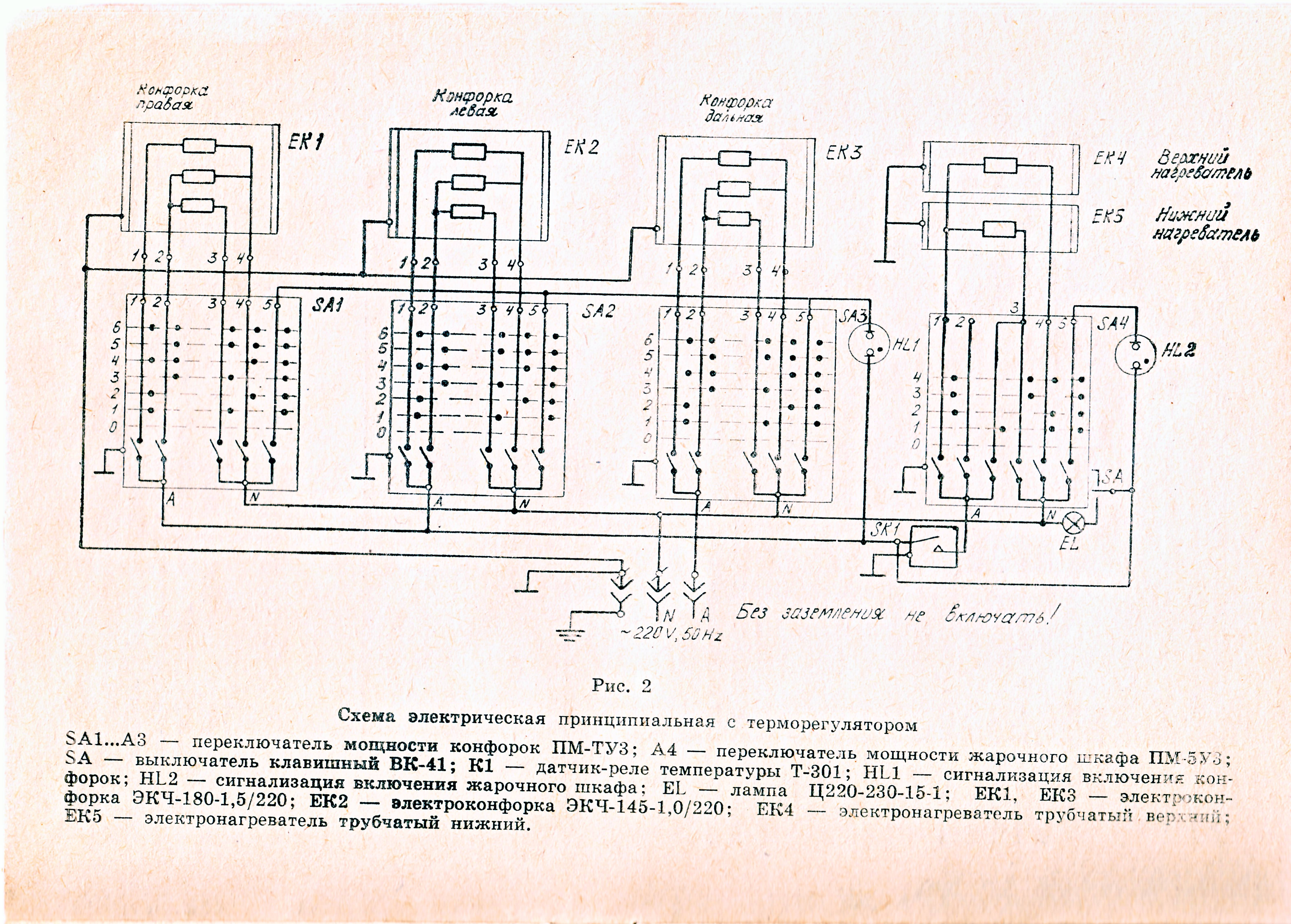 File:Wiring Diagram Of USSR Electric Stove.JPG