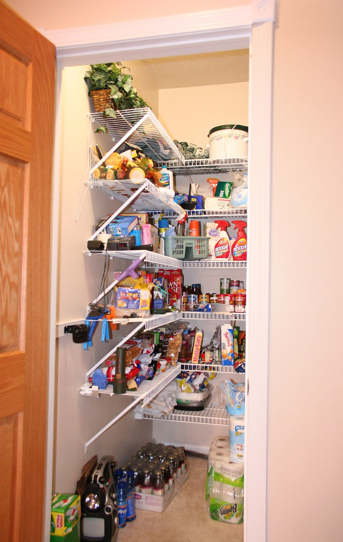 Residential pantry Narrow Cabinet For Kitchen