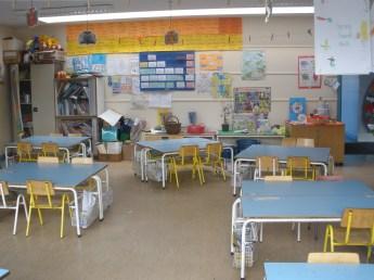 school classroom; wiki commons
