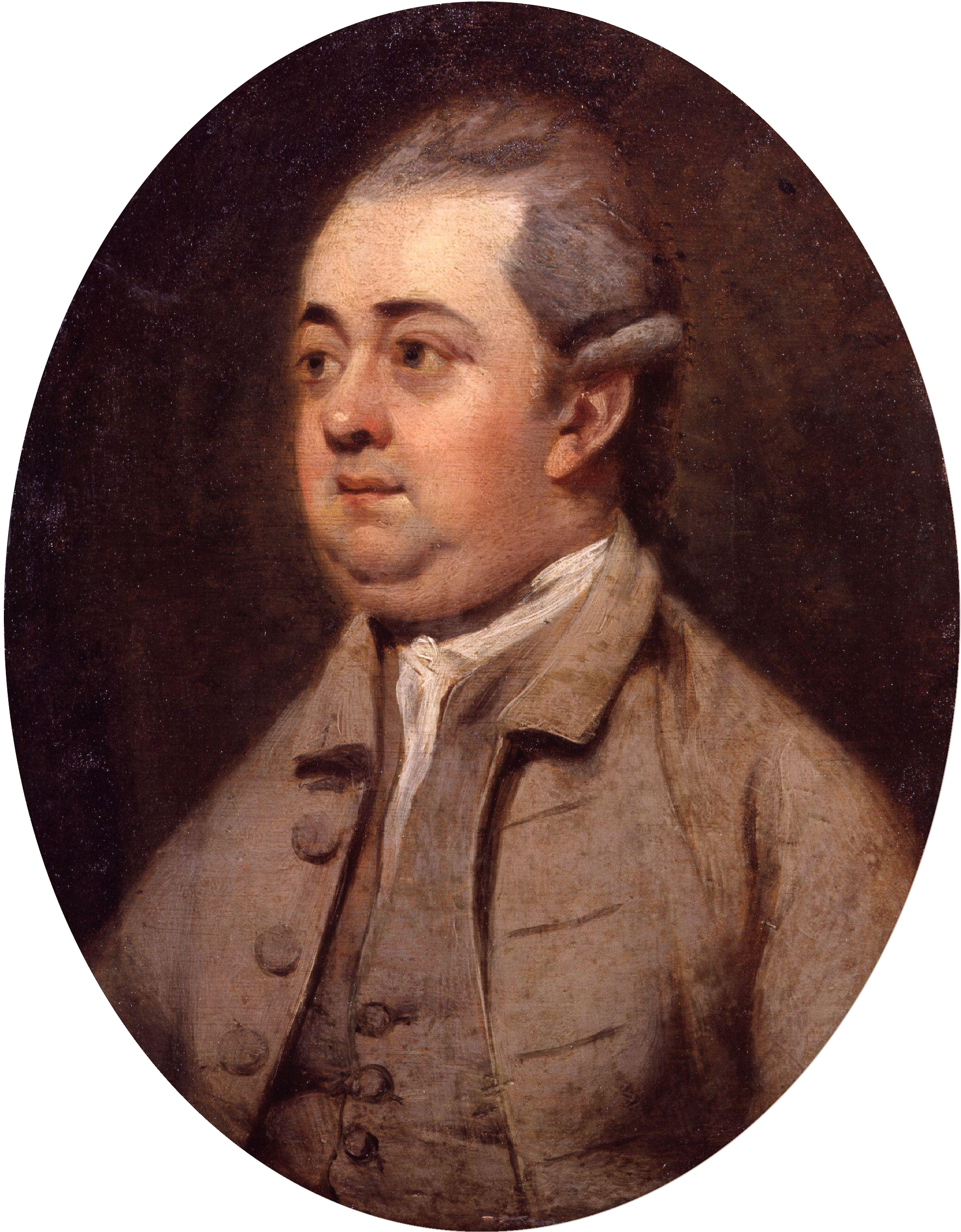 Edward Gibbon, by Henry Walton (died 1813).