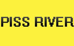 English: The logo of the band piss river