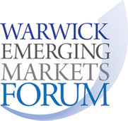English: Warwick Emerging Markets Forum Logo