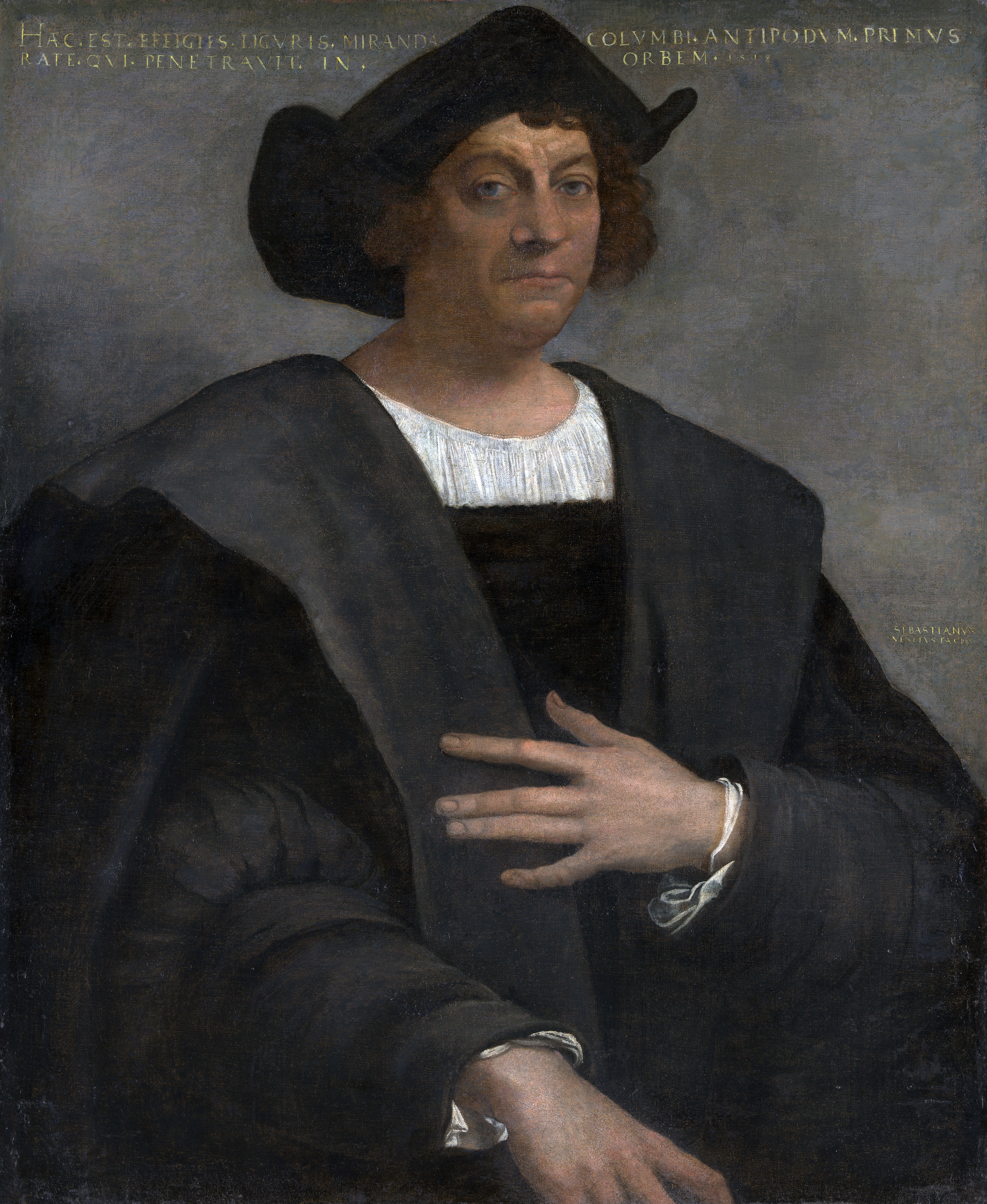 Columbus Portrait