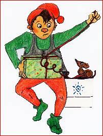 Kravlenisse (maybe Christmas elf ?), a Danish ...