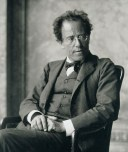 Photo of Gustav Mahler by Moritz Nähr 01