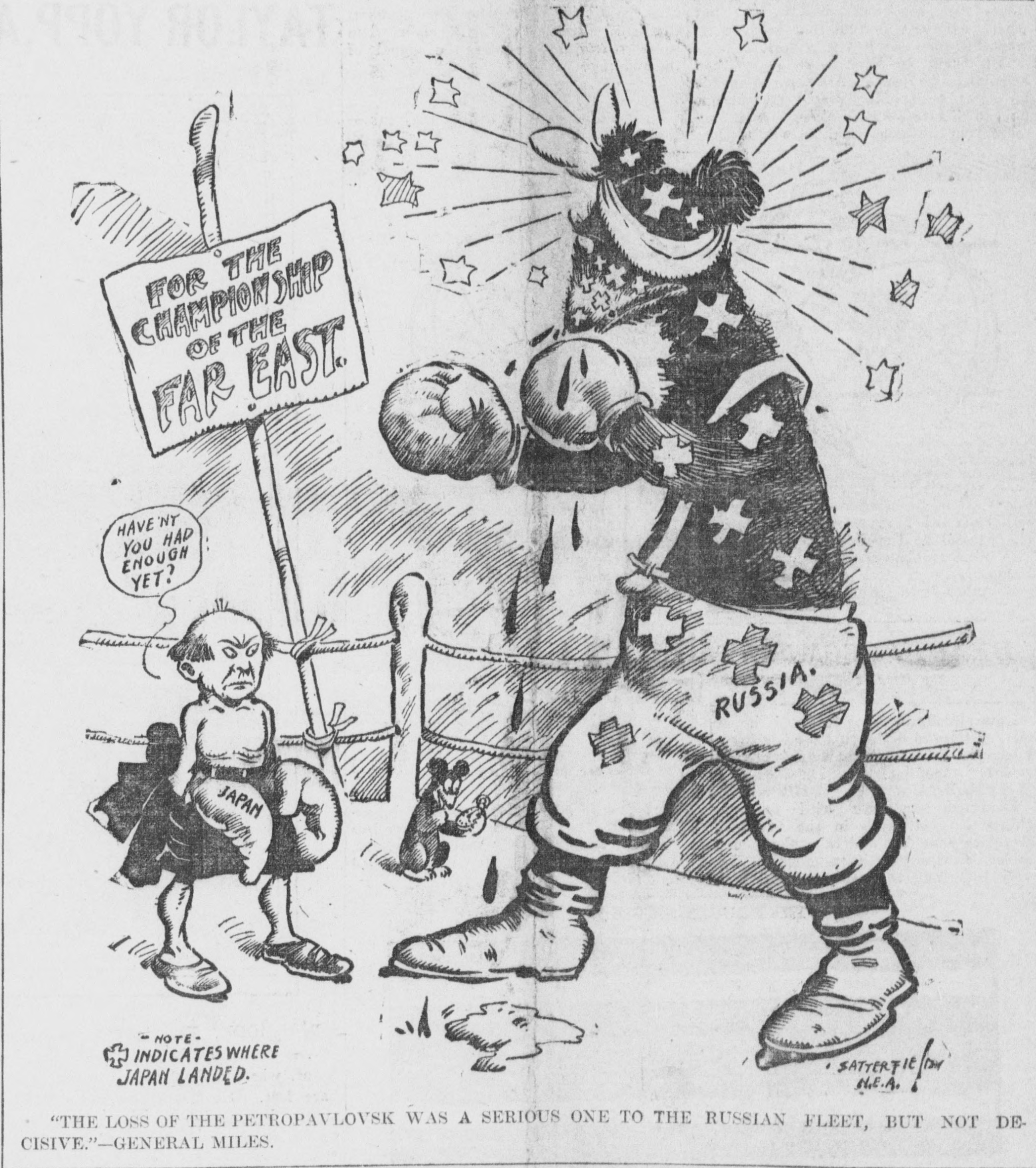 File Satterfield Cartoon About The Russo Japanese War As A