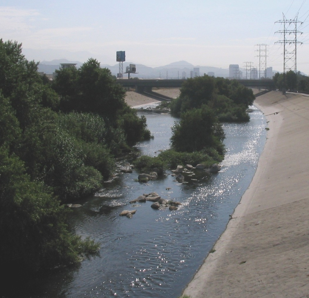 Los Angeles River, courtesy of Wikimedia
