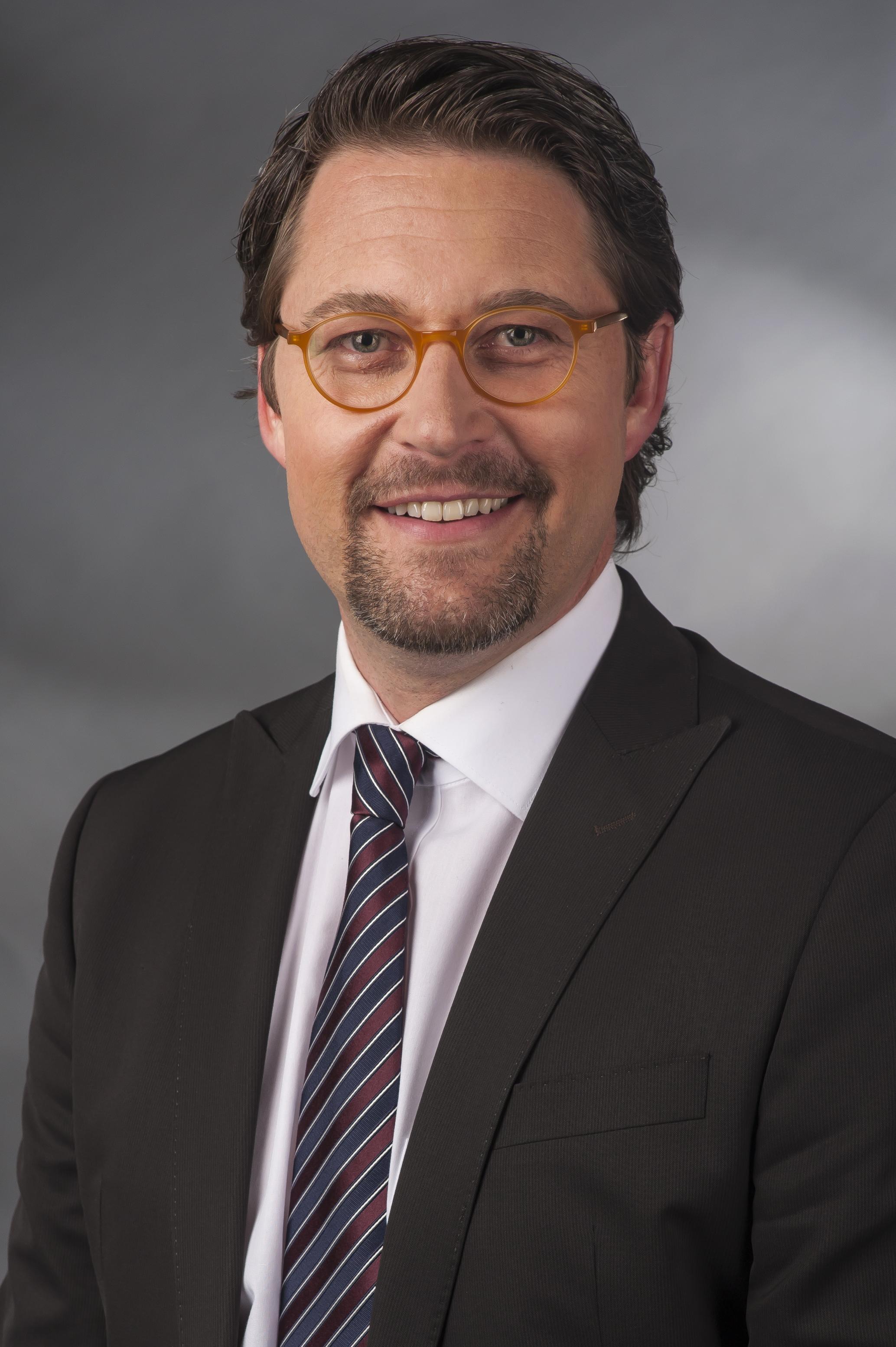 Wikimedia image: Andreas Franz Scheuer (* 26. September 1974 in Passau) ist ein deutscher Politiker (CSU) Image License: Creative Commons CC BY-SA 4.0.