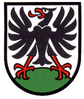 Coat of arms city of Adelboden (Switzerland)