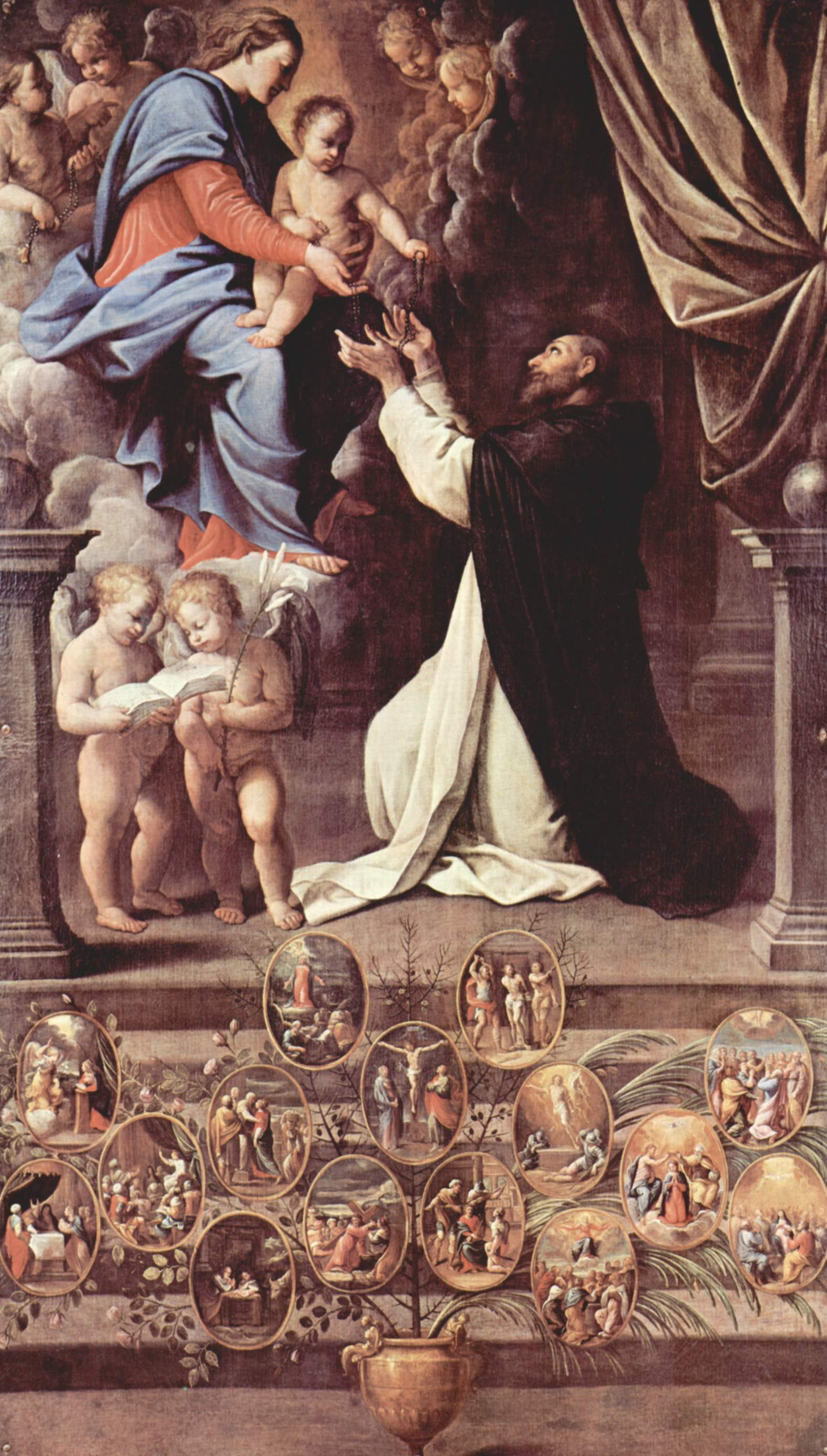 Catholic Rosary St. Dominic Third Order Dominincan
