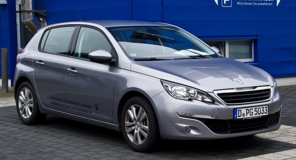 File:Peugeot 308 82 VTi Active (II) – Frontansicht, 4 ...