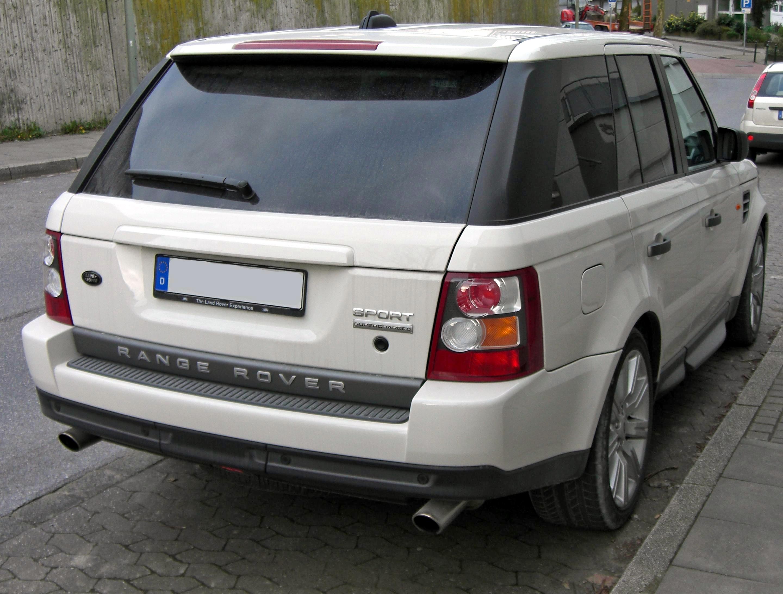 File Range Rover Sport rear 2 Wikimedia mons