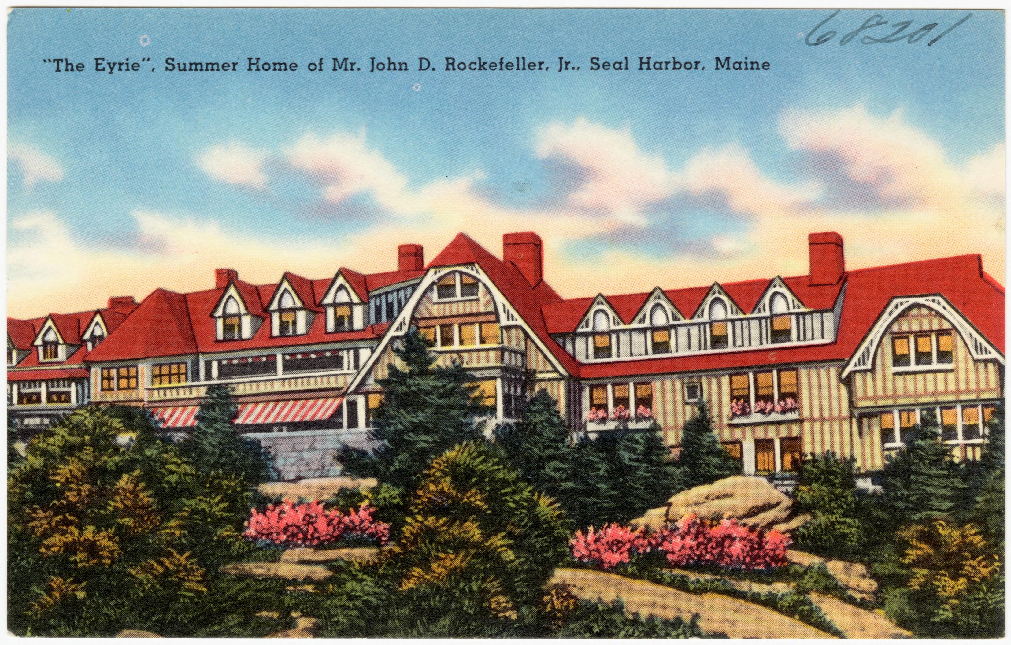 FileThe Eyrie Summer Home Of Mr John D Rockefeller Jr