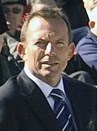 Crop of original picture of Tony Abbott in 2010.