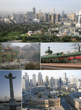 Montage of various Dalian images