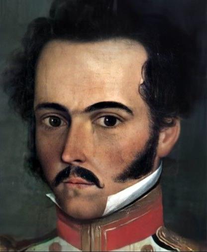 Simón Bolívar in 1812