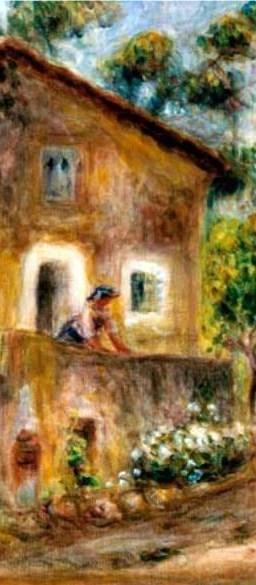 Renoir - La casa de Colletes en Cagnes